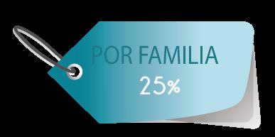 Descuento por familia en el Centro Psicólógico María Jimenez de un 25%