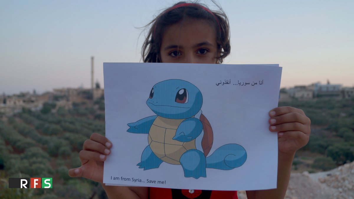 pokemon in syria