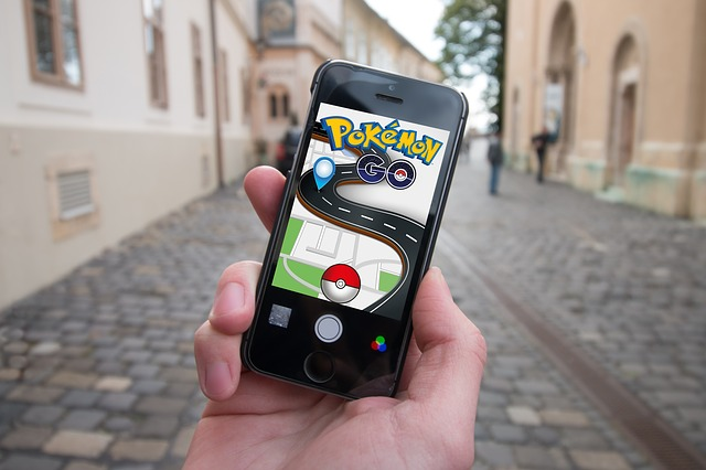 pokemon pantalla movil calle